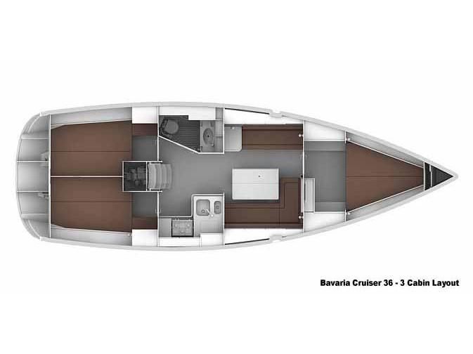 Bavaria Cruiser 36 (Lolita) Plan image - 2