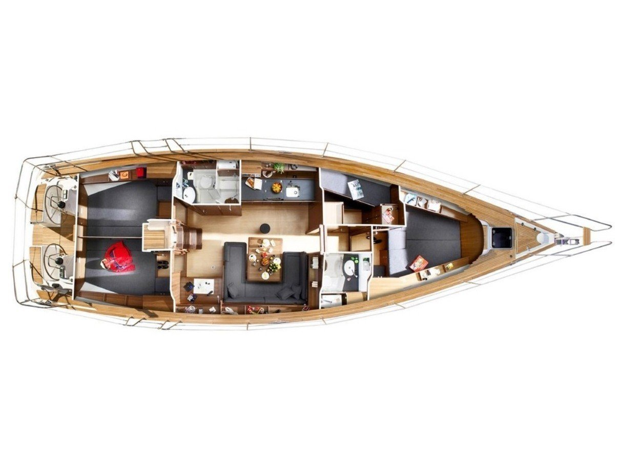 Bavaria 47 Cruiser (Bav 47 Cr) Plan image - 2