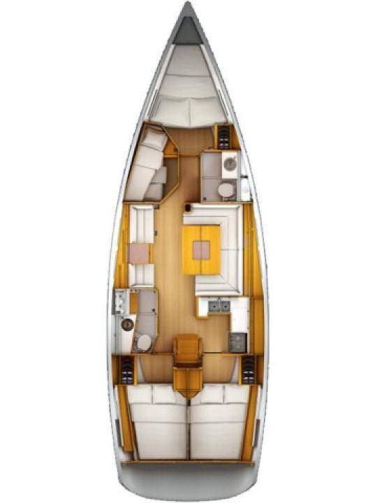 Sun Odyssey 439 (Aeriko)  - 3