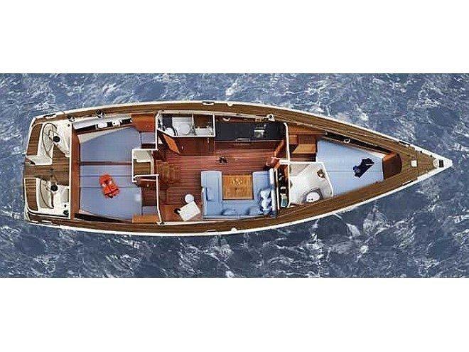 Bavaria 43 Cruiser (Bav 43 Cr) Plan image - 1