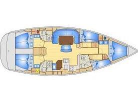 Bavaria Cruiser 50 (Naxia) Plan image - 3
