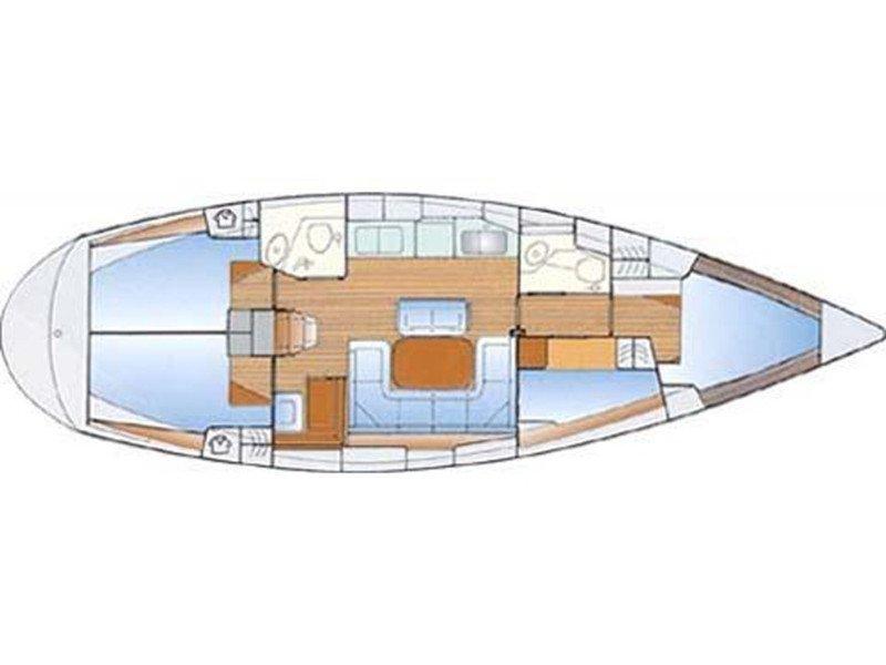 Bavaria 42 (Aiolis) Plan image - 1