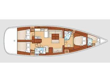 Oceanis 54 (Josu) Plan image - 5
