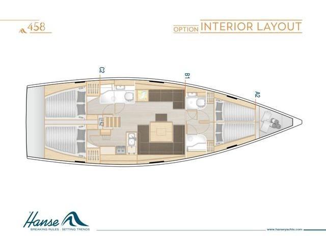 Hanse 458 (ECLIPSE) Plan image - 3