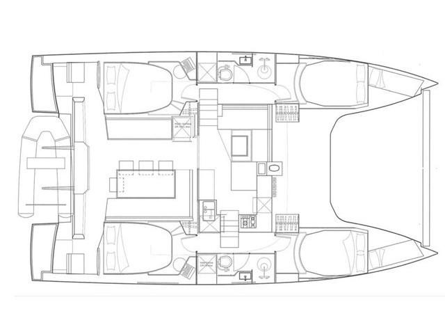 Nautitech Open 40 (ENDLESS) Plan image - 18