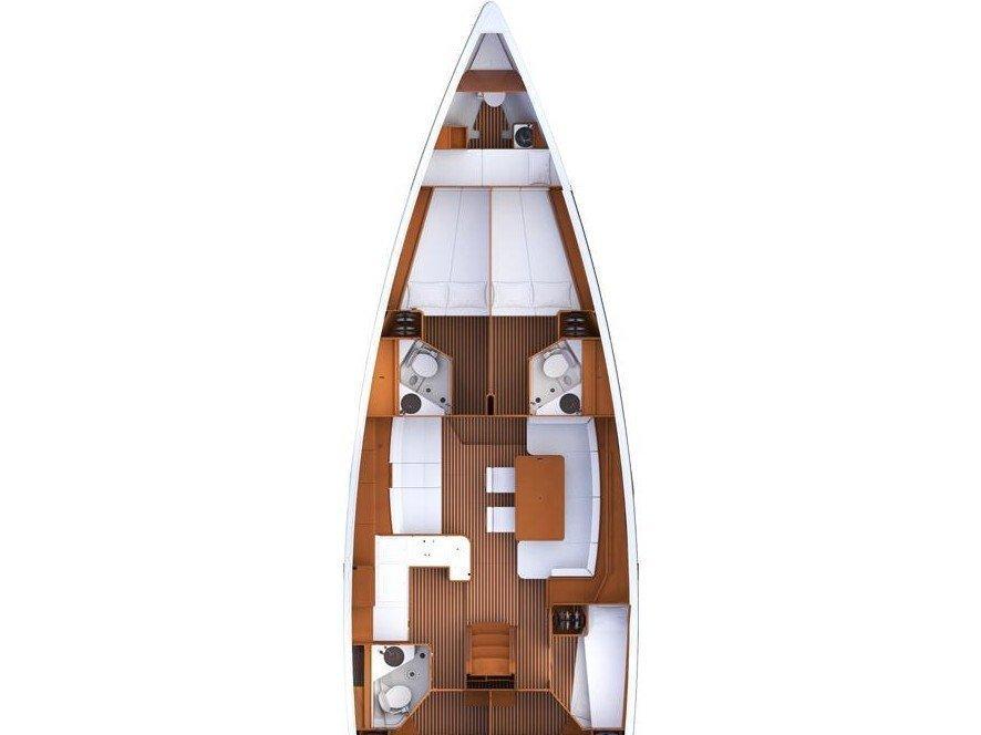 Jeanneau 53 (Peppa) Plan image - 3