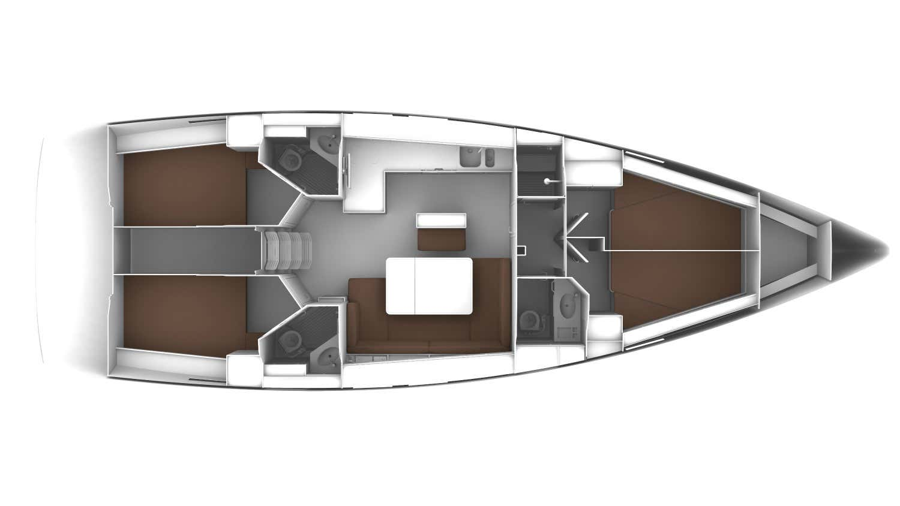 Bavaria Cruiser 46 (ROZERINA)  - 10