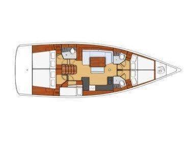 Oceanis 48 (Joy ) Plan image - 1