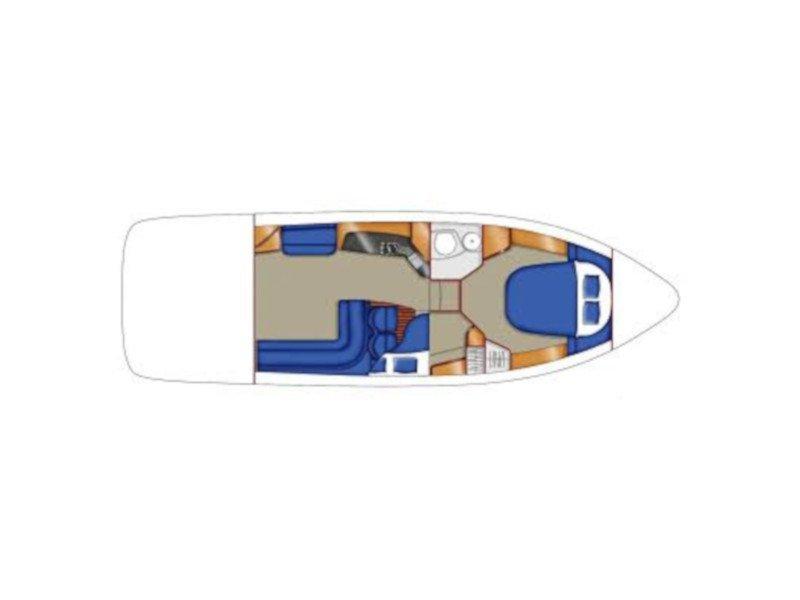 Sealine F34 (Little One) Plan image - 2