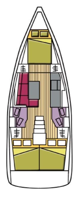 Oceanis 38.1 (Zosma)  - 4