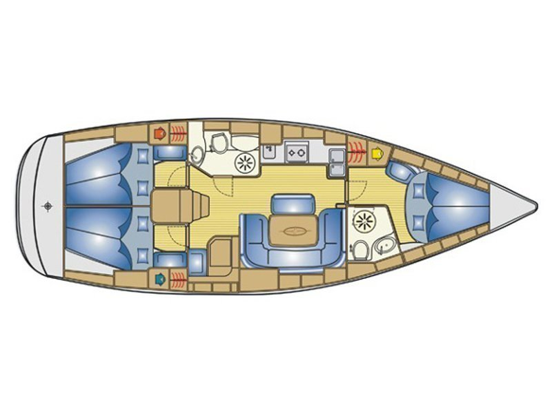 Bavaria 39 Cruiser (Julia) Plan image - 3