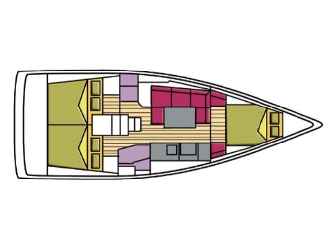Oceanis 38 (Regulus) Plan image - 13