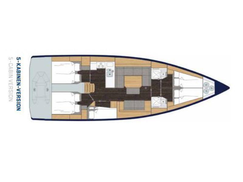 Bavaria C45 (Simeon) Plan image - 5