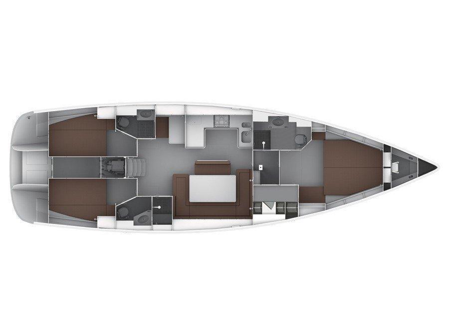 Bavaria Cruiser 50 (Altair) Plan image - 44