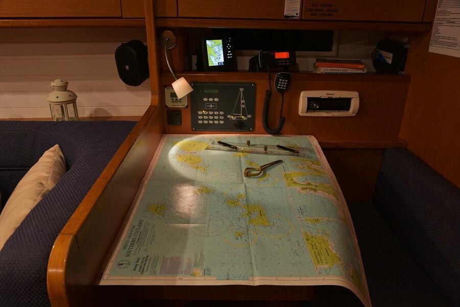 Bavaria Cruiser 41 (Erato (New Sails 2020)) Chart Table - 3