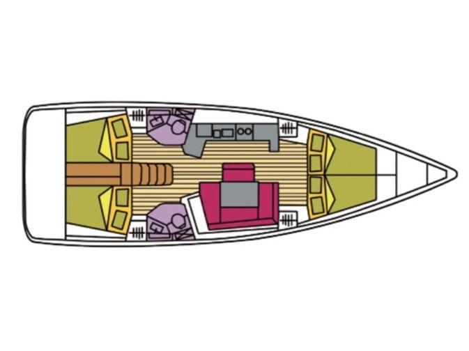 Oceanis 45 (Alphard) Plan image - 1