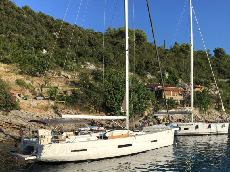 Dufour 56 Exclusive (Jess fully equipped white hull)  - 7