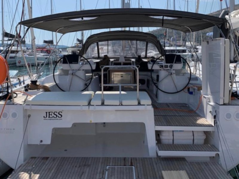 Dufour 56 Exclusive (Jess fully equipped white hull)  - 9