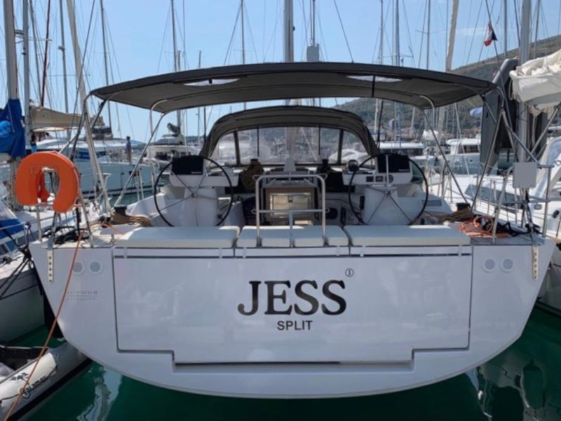 Dufour 56 Exclusive (Jess fully equipped white hull) Plan image - 28