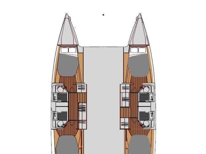 Astréa 42 (OCEAN RUNNER -AC and generator) Plan image - 10