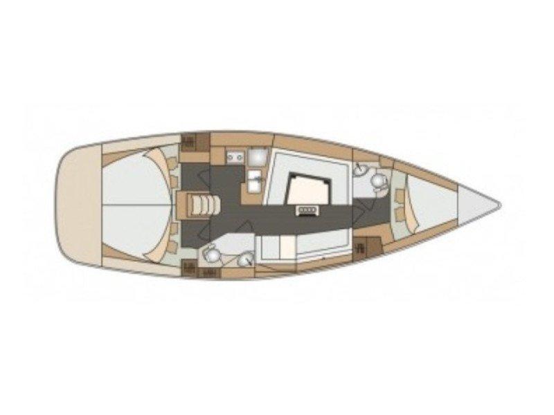 Elan 40 Impression (JANINA) Plan image - 3