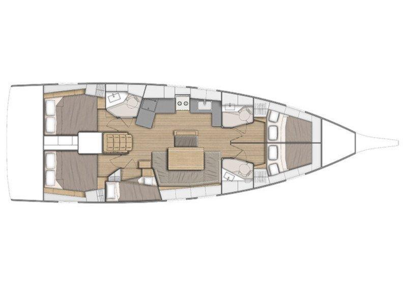Oceanis 46.1 (Rabia) Plan image - 10