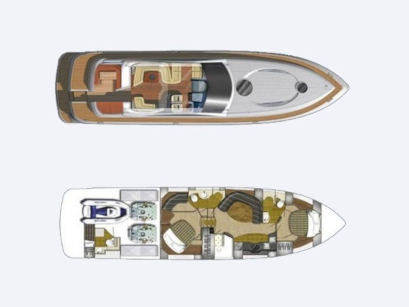 Fairline Targa 62 (Duje) Plan image - 2