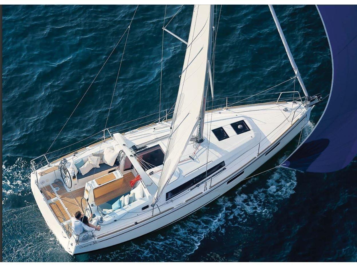 Oceanis 35.1 (Aquarius - with bowtruster) Main image - 0
