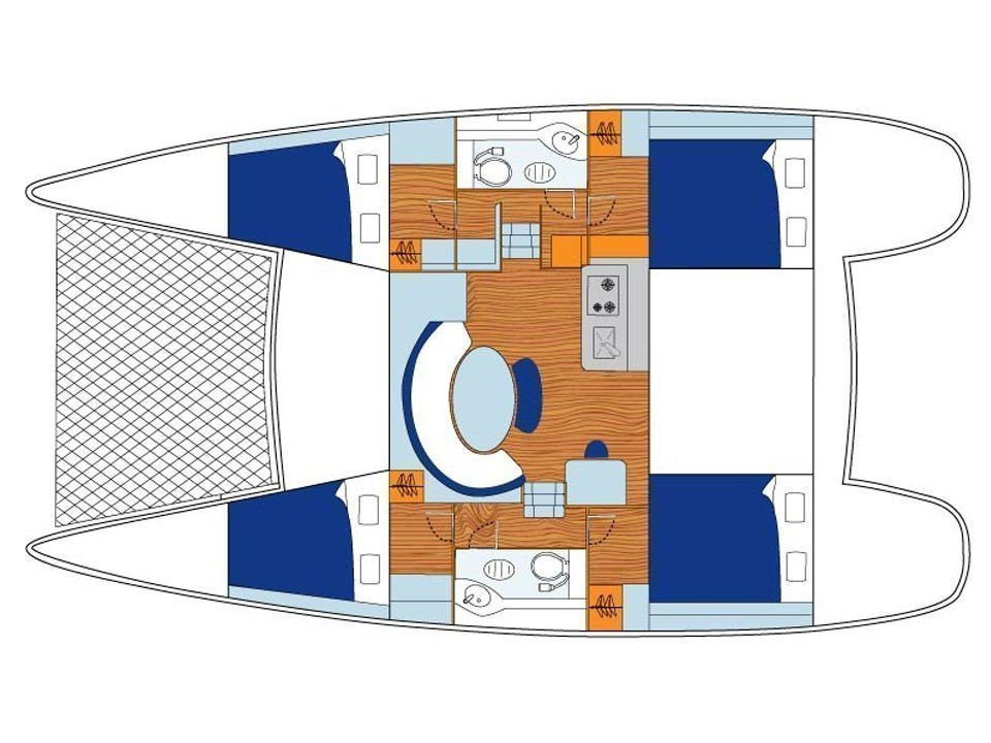 Lagoon 380 S2 (Star) Plan image - 46