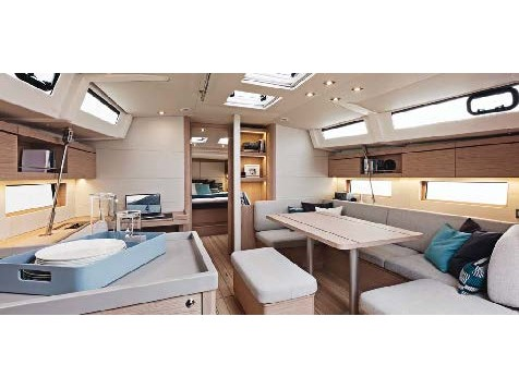Oceanis 46.1 (Ethereal -Watermaker 12V (4 Cabins 4 Heads )) Interior image - 1