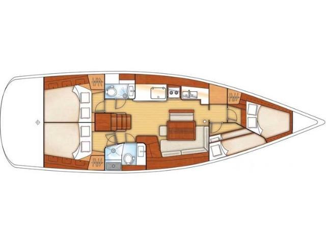 Oceanis 46 (ASPASIA (refit 2019)) Plan image - 1