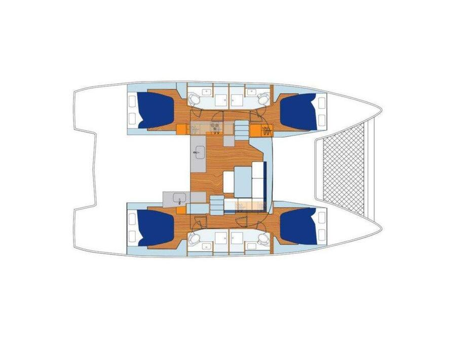 Lagoon 46 () Plan image - 1