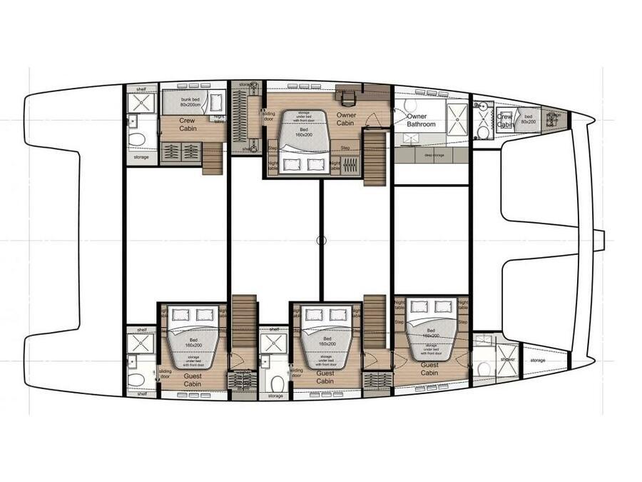 Sunreef 60 (VULPINO) Plan image - 1