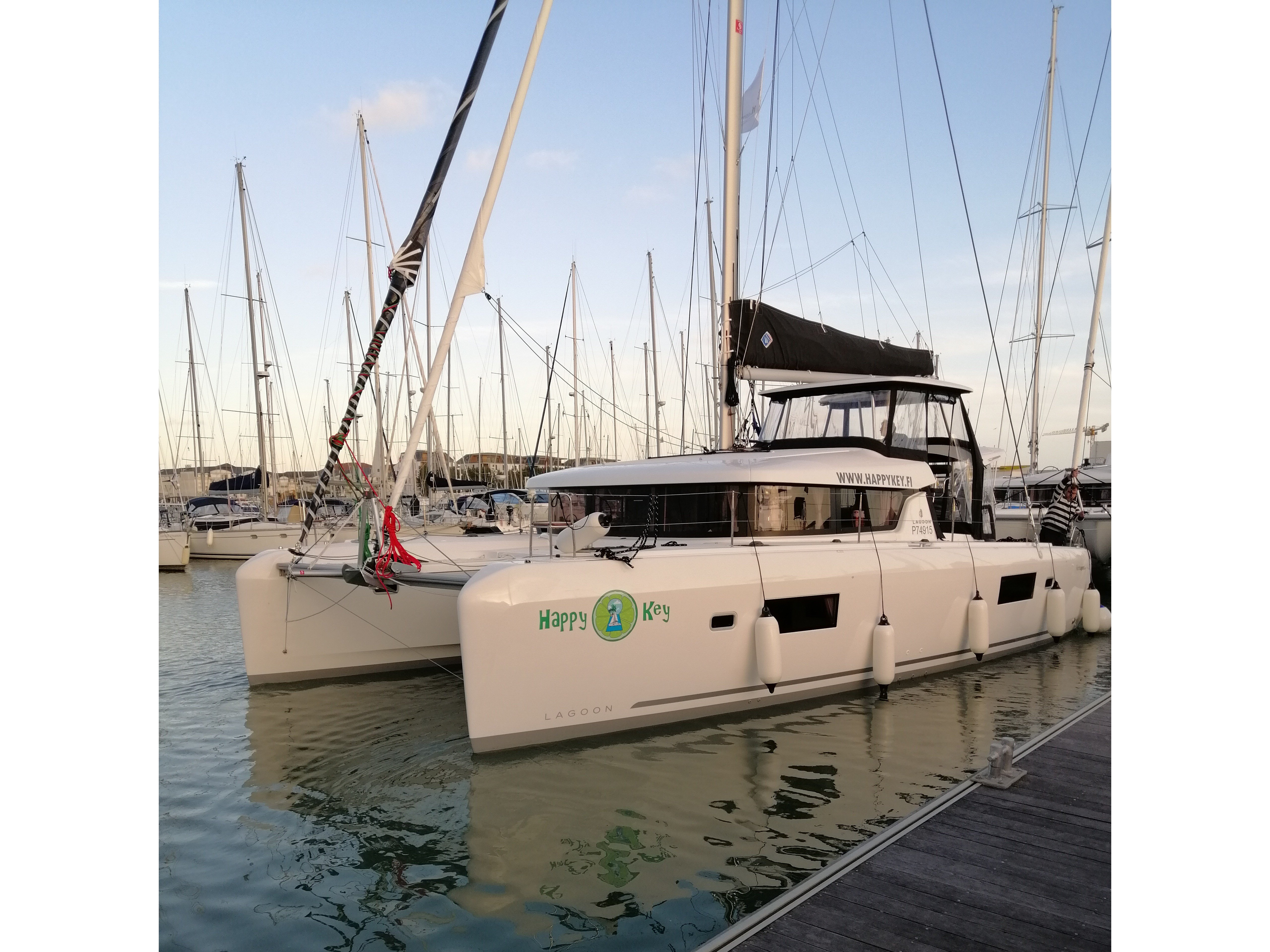 Lagoon 42 (2020) equipped with generator, A/C (sal (HAPPY KEY) Main image - 0