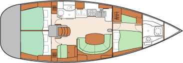Oceanis 411 (Bill) Plan image - 3