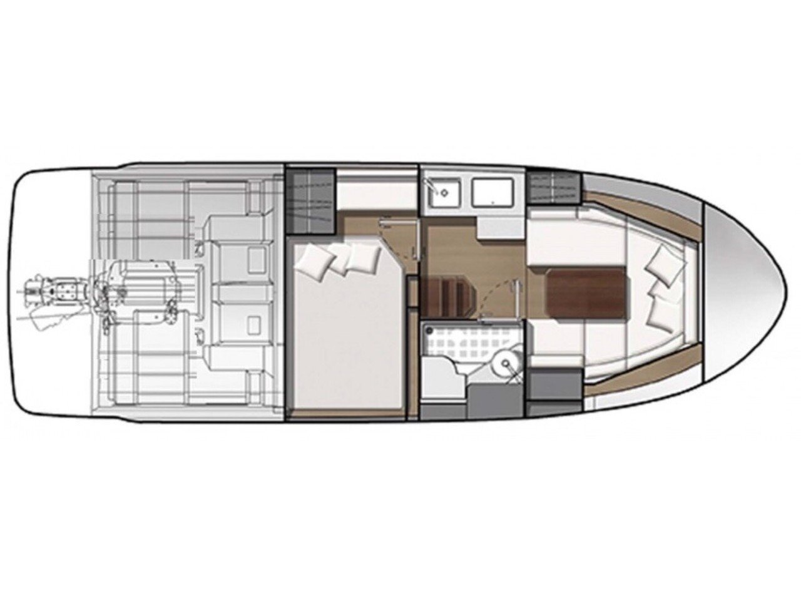 Jeanneau Leader 30 (Jeanneau Leader 30 (2018)) Plan image - 4