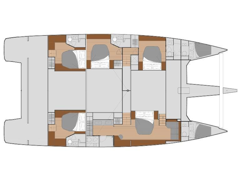 Alegria 67 (Serenissima) Plan image - 1