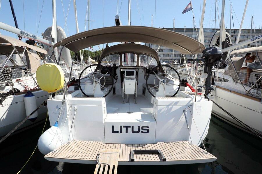 Sun Odyssey 419 (Litus)  - 8