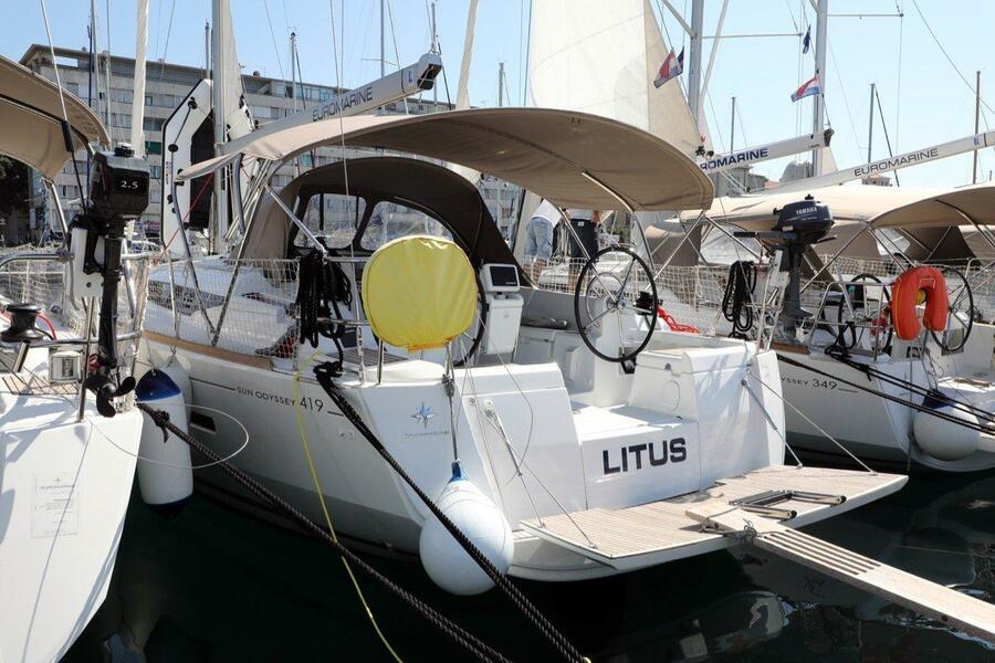 Sun Odyssey 419 (Litus)  - 5