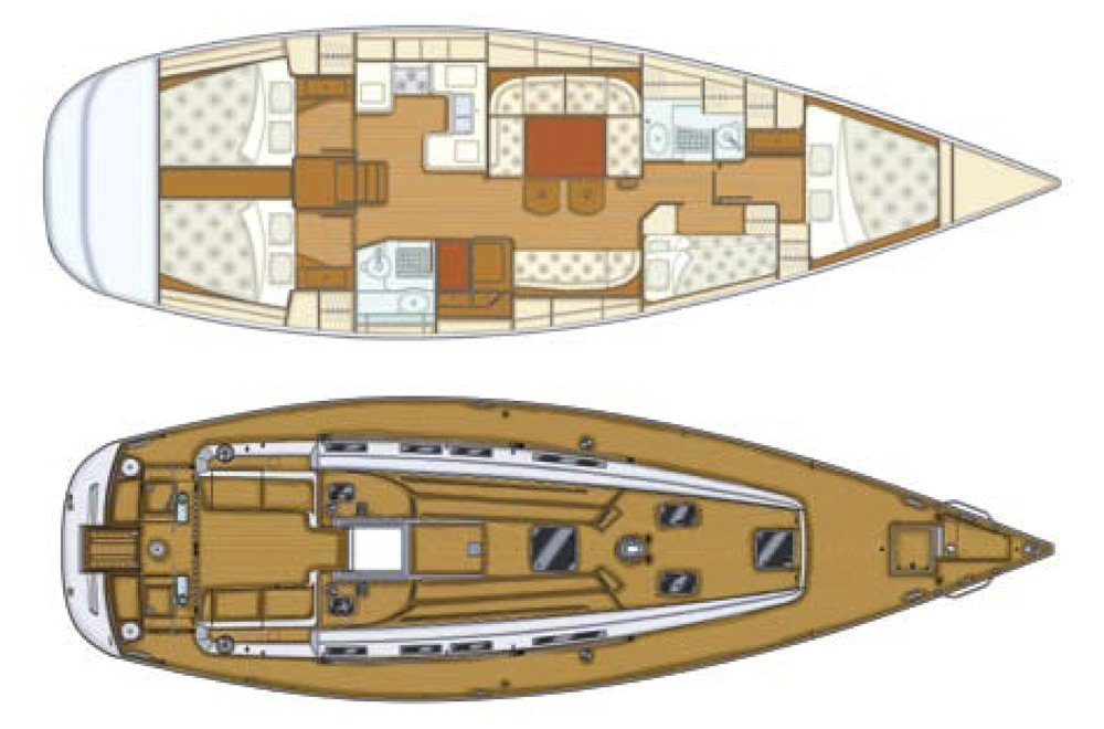 Grand Soleil 50 (Kety (Sails 2019, Bowthruster)) Plan image - 14