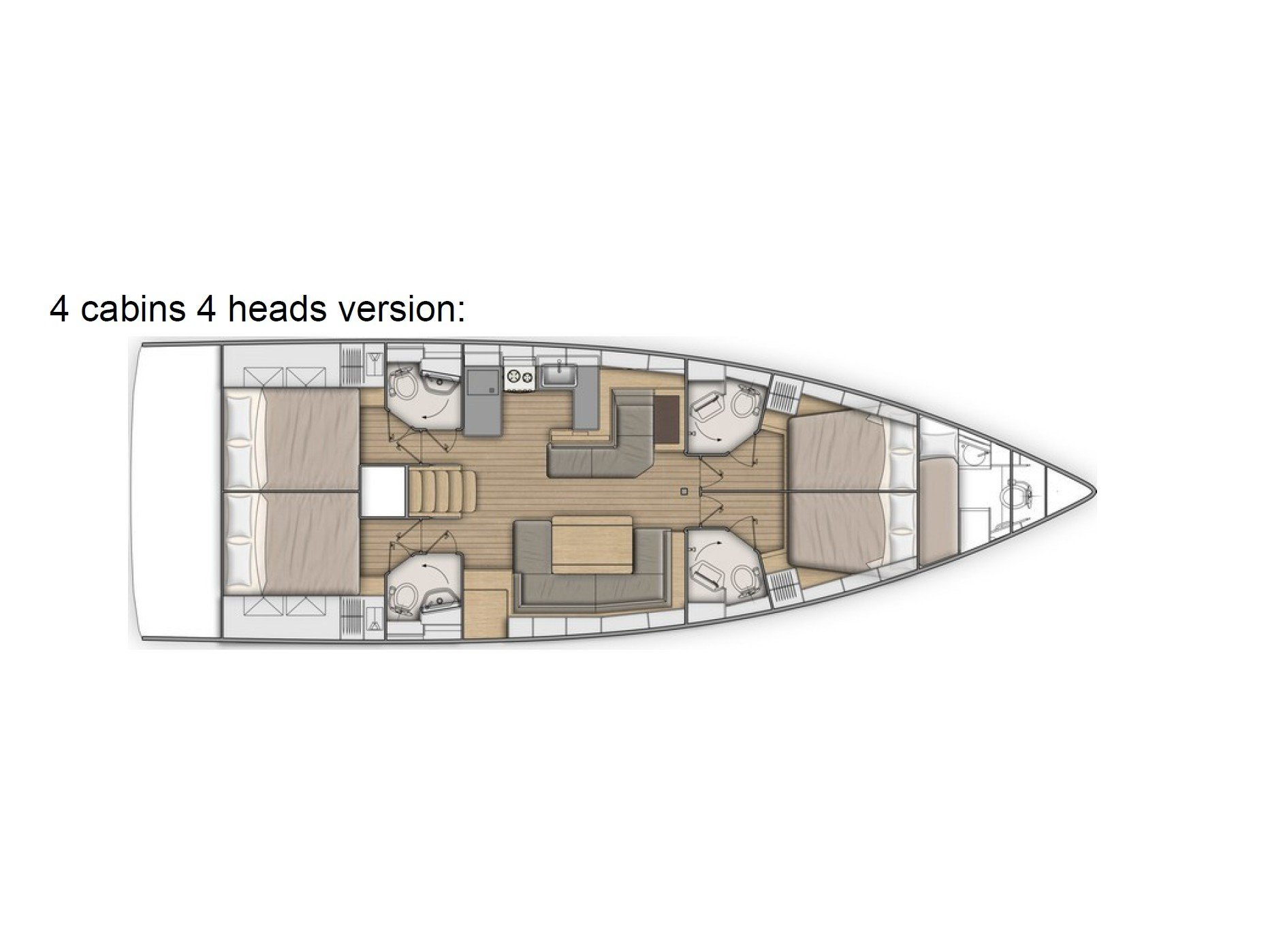 Oceanis 51.1 First Line (Pisces) Plan image - 31