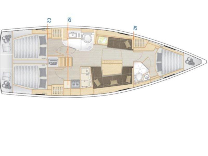 Hanse 418 (Aloisia) Plan image - 8