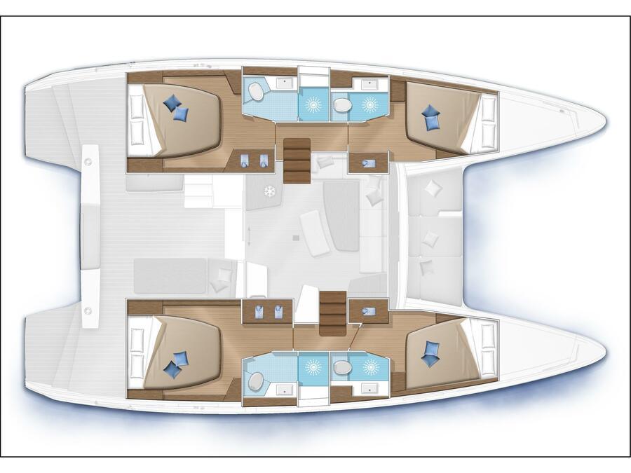 Lagoon 42 (ALICE) Plan image - 11