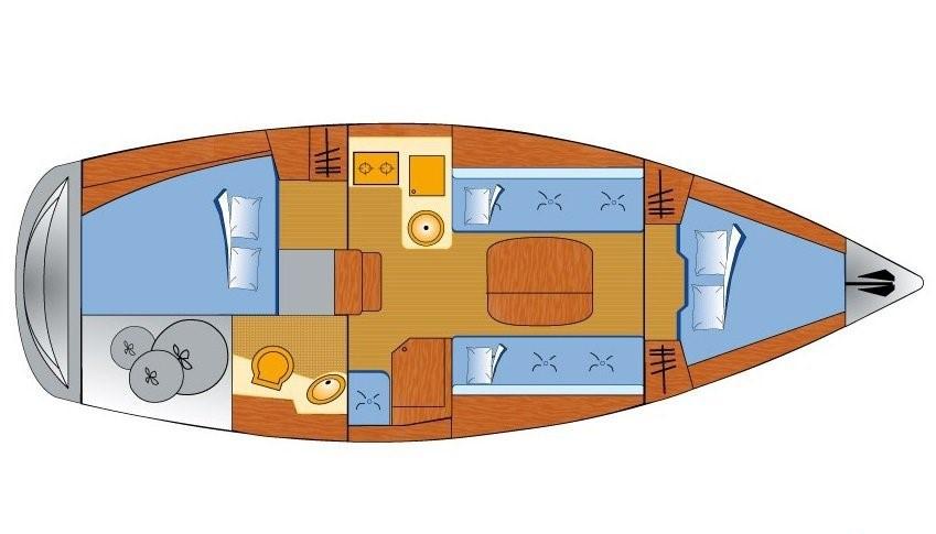 Bavaria 31 Cruiser (Free Spirits)  - 8