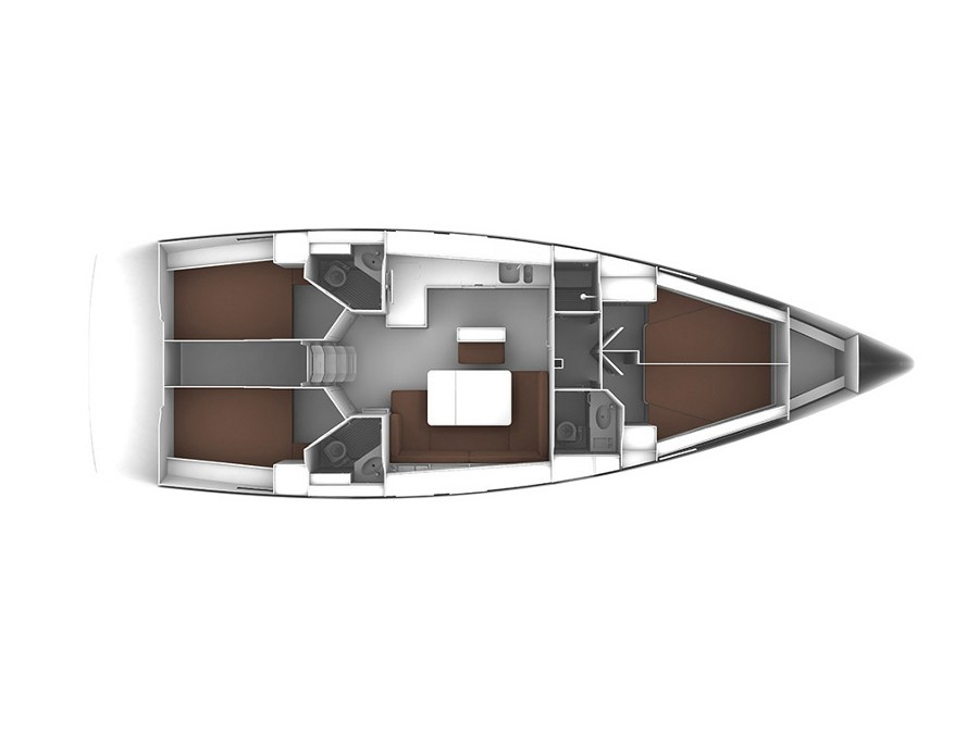 Bavaria Cruiser 46 (Angelofe) Plan image - 14