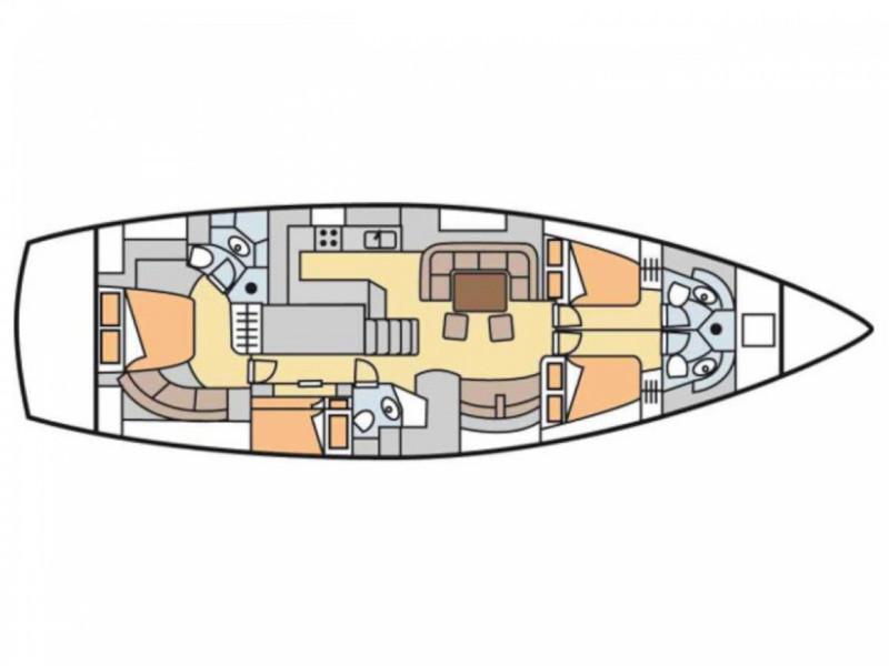 Beneteau 57 (Caprice) Plan image - 5