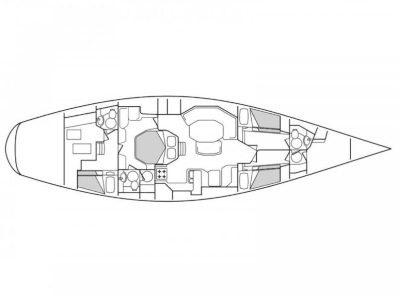 Baltic Yachts b58 (Akoya) Plan image - 10