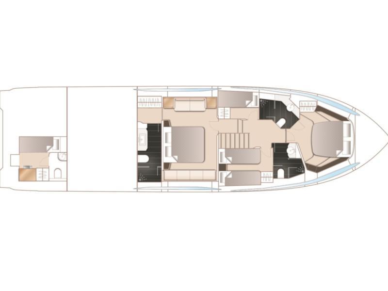 Princess S65 (MIRNO MORE) Plan image - 1