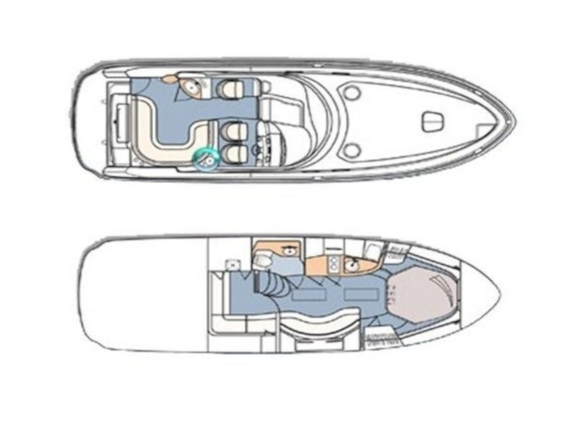 Sea Ray 375 (Sirius) Plan image - 3