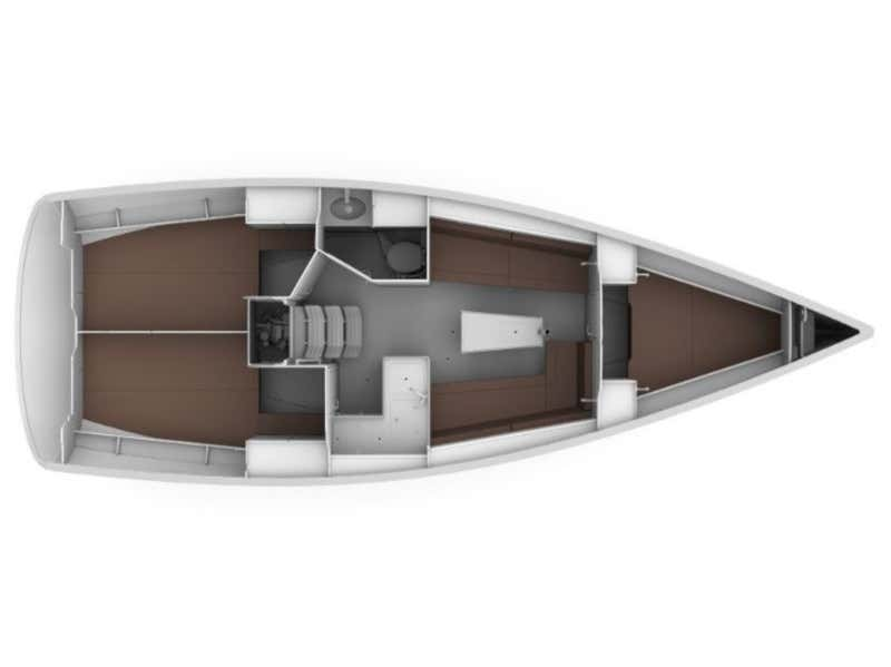 Bavaria 34 Cruiser (Be Happy) Plan image - 1